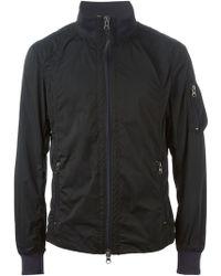 Armani Jeans Windbreaker Jacket - Lyst