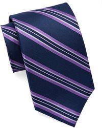 Burma Bibas - Silk Multi-stripe Tie - Lyst