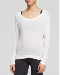 Hard Tail - Open Back Long Sleeve Tee - Lyst
