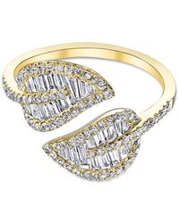 Anita Ko - Yellow Gold Leaf Ring - Lyst