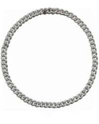 SHAY - Essential Pavé Diamond Link Necklace - Lyst
