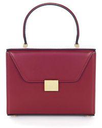 e7d3dc1ab330 Lyst - Miu Miu Pattina Spangle Shoulder Tote Bag Bordeaux Paillettes ...