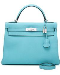 b01575ee2c01 Lyst - Hermès Handbags Birkin 25 Bleu Nuit Togo Shw brand New ...