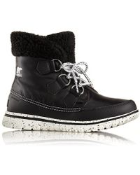 Sorel - Cozy Carnival Lace Up Ankle Boots - Lyst