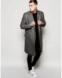 Criminal Damage - Overcoat - Lyst