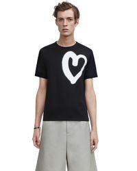 Acne Studios Eddy Symbol Heart Black - Lyst