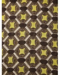 Paolo Pecora - Geometric Pattern Scarf - Lyst