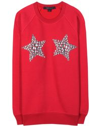 Marc Jacobs Embellished Sweatshirt - Lyst
