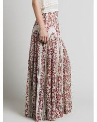 Free People Zoe Maxi Skirt - Lyst