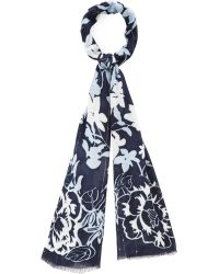 Cc | Floral Sequin Scarf | Lyst