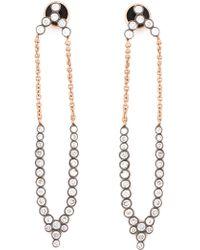 Yannis Sergakis | Long 'charnières' Diamond Earrings | Lyst
