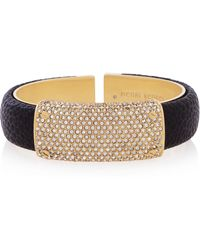 Henri Bendel Bowery Hinged Cuff Bracelet - Lyst