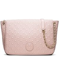 Tory Burch Marion Quilted Flap Shoulder Bag - Lyst