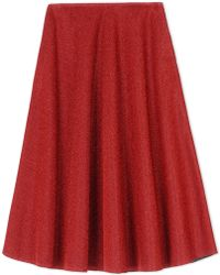 Golden Goose Deluxe Brand 3/4 Length Skirt red - Lyst