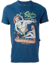 Rude Riders - Pinup Print Tshirt - Lyst