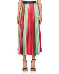 Mary Katrantzou   Pleated Maxi Skirt   Lyst