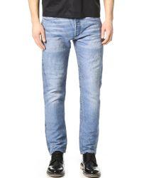 Calvin Klein | Landon Jacquard Jeans | Lyst