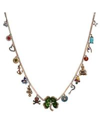 Katherine Wallach | Good Luck Buddha Necklace | Lyst