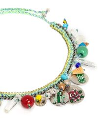 Venessa Arizaga - 'travel Bag' Necklace - Lyst