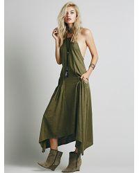 Free People Softly Softly Apron Dress - Lyst