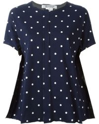 Comme des Garçons Stars Printed T-Shirt - Lyst