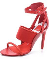 Dolce Vita Halton Strappy Sandals - Persimmon - Lyst