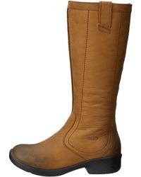Keen Brown Tyretread Boot - Lyst