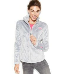The North Face Pink Ribbon Osito 2 Fleece Jacket - Lyst