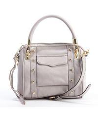 Rebecca Minkoff Tortora Cupid Mini Convertible Handbag - Lyst
