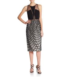 Sachin & Babi Khloe Paneled Dress - Lyst