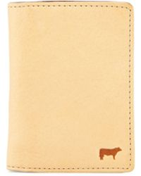 Will Leather Goods - Xavier Two-tone Leather Card Case - Lyst