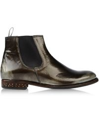 NDC Green Ankle Boots - Lyst