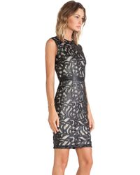 Lapina By David Helwani Lapina Olivia Lace Dress - Lyst