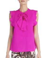 Emilio Pucci | Ruffle-detail Blouse | Lyst