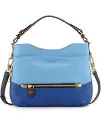 orYANY | Ellie Leather Hobo Bag | Lyst