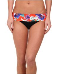 Seafolly Field Trip Roll Top Hipster - Lyst