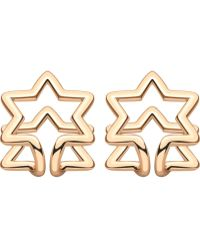 Coops London - Star Squeeze On Earrings - Lyst