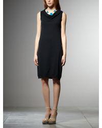 Patrizia Pepe Cotton Yarn Mini Dress - Lyst