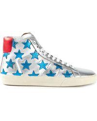Saint Laurent 'Court Classic' Sneakers - Lyst