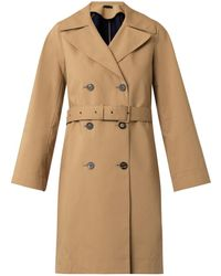 The Row Guyen Double-Faced Cotton Trench Coat - Lyst