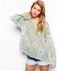 Wildfox White Label Daisys Girl Daisy Roadie Jumper - Lyst