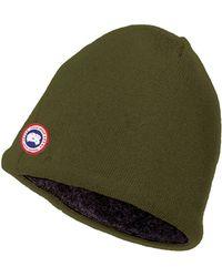 Canada Goose trillium parka replica store - Canada goose Arctic Tech Shearling Pilot Hat in Orange for Men ...