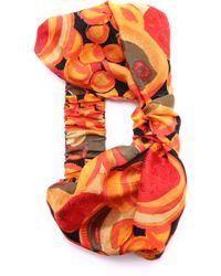 Eugenia Kim Natalia Turban Headband - Orange/Multi multicolor - Lyst