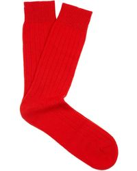 Pantherella Waddington Cashmere-blend Socks - Lyst