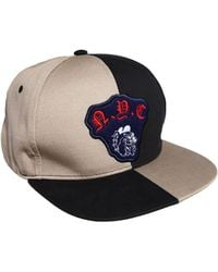 Asos Snap Back Cap with Bulldog Badge - Lyst