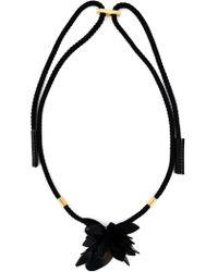 Marni Flower Pendant Necklace - Lyst