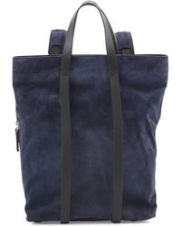 Costume National Tokyo Slouchy Suede Backpack - Lyst