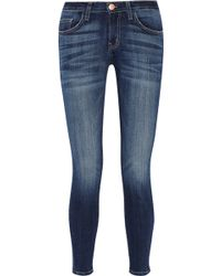 Current/Elliott High-Rise Skinny Jeans - Lyst