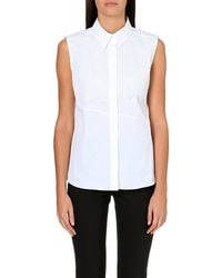 Peter Pilotto Lace Detailed Cotton Shirt White - Lyst
