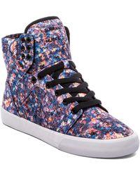 Supra Multicolor Skytop Sneaker - Lyst